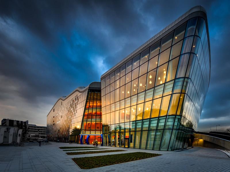 Congress Center in Krakow - Building exterior
