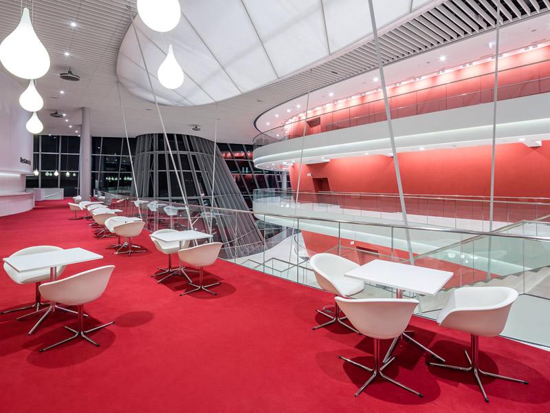 Congress Center in Krakow - Foyer & restaurant