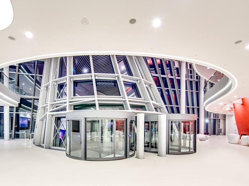 Congress Center in Krakow - Main entrance