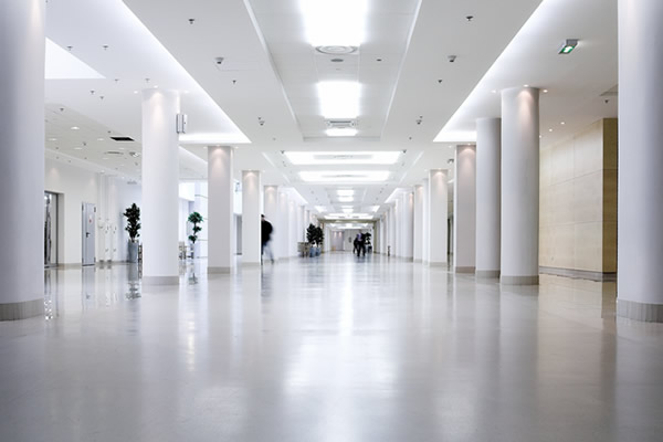 Clear Choice Locations >> White Concrete Floors for commercial and industrial use