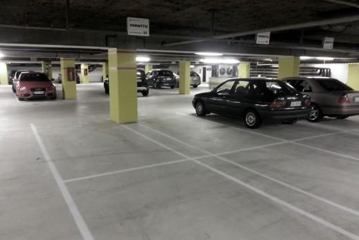 Car Park Puddles